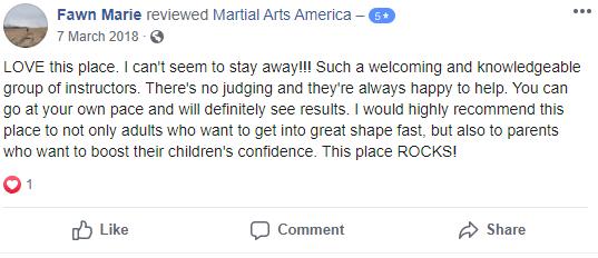 3, Martial Arts America in Greendale, WI